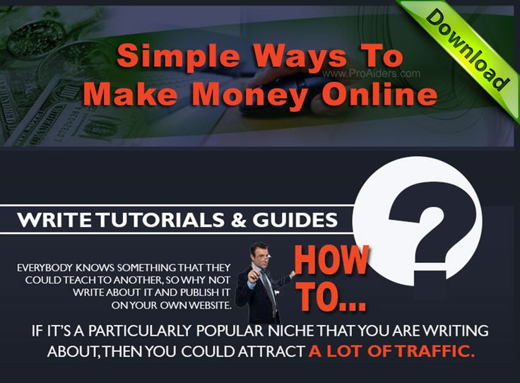 how to make money the fast and easy way