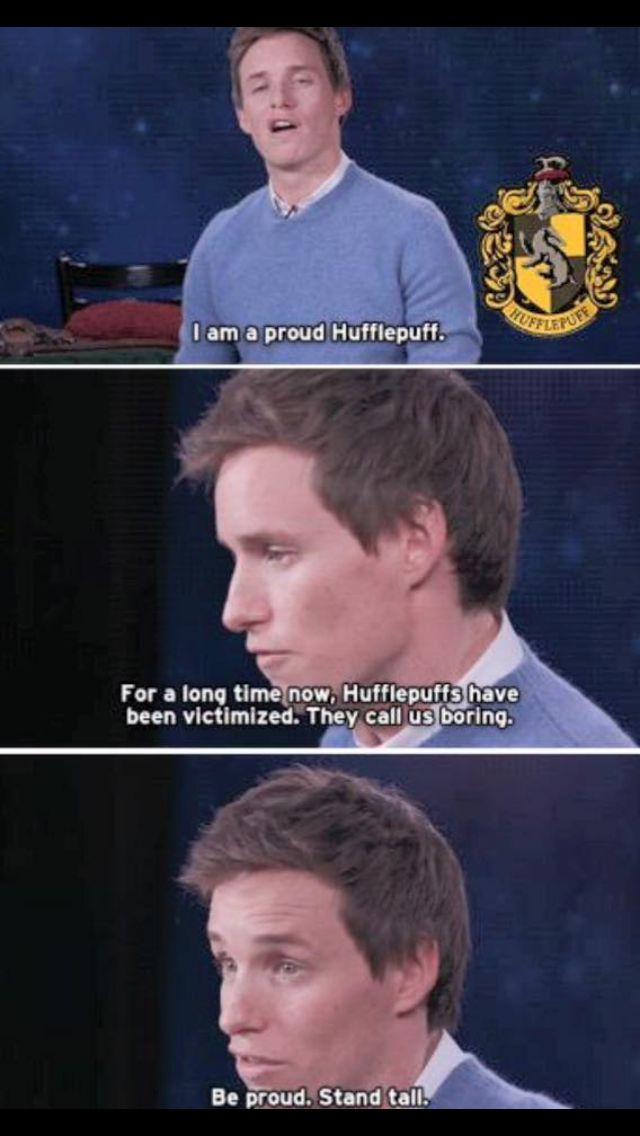 For my fellow Hufflepuffs, YOU ARE BOMB M8 - From a Gryffindor x