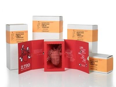 diseño editorial, revista ( correo directo ) The gift of Life - #packaging