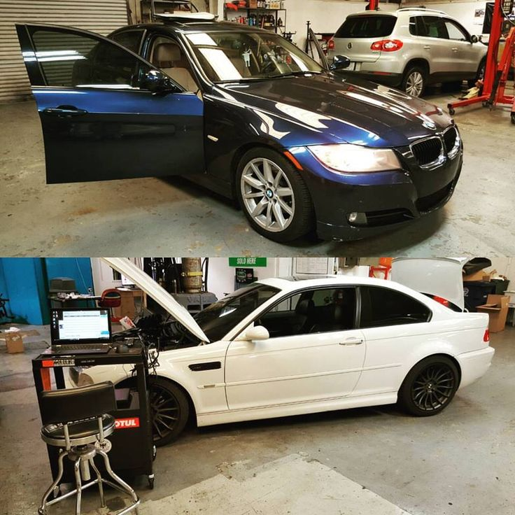 German Autohaus Chattanooga Tennessee 2011 BMW 328i diganostics 2003 M3 fuel pump replacement