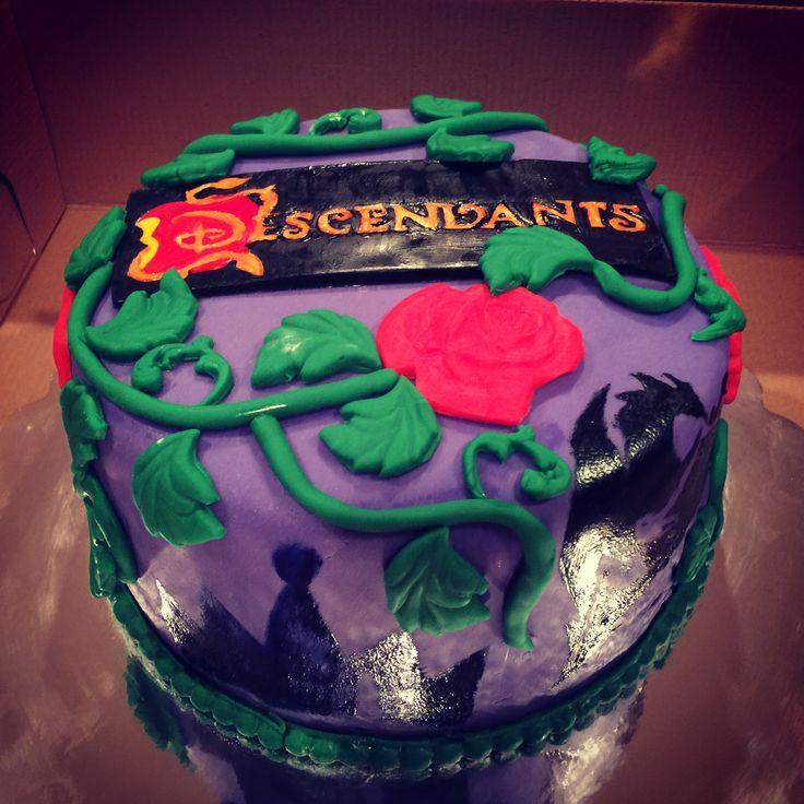 Disney Descendants birthday cake for my daughter