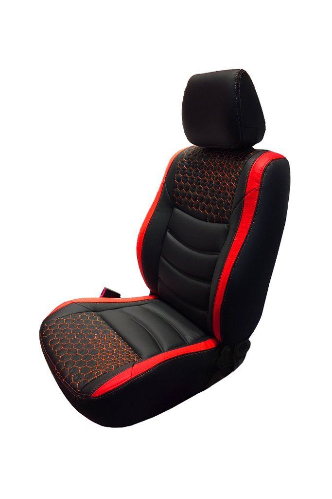 NEW QUALITY RED-BLACK SEAT COVERS