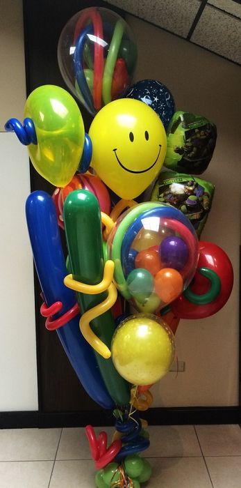"""Art """"Party Balloons!!! Idea"""" Art"""