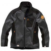 Scruffs Classic Tech Softshell Jacket Black / Grey