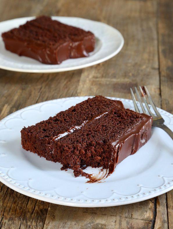 Gluten Free Chocolate Fudge Cake | Gluten Free on a Shoestring