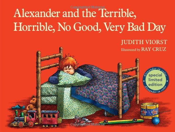 Alexander was such a grump! ;)Worth Reading, Book Worth, Terrible, Alexander, Horrible, Bad Day, Ray Cruz, Judith Viorst, Children Book