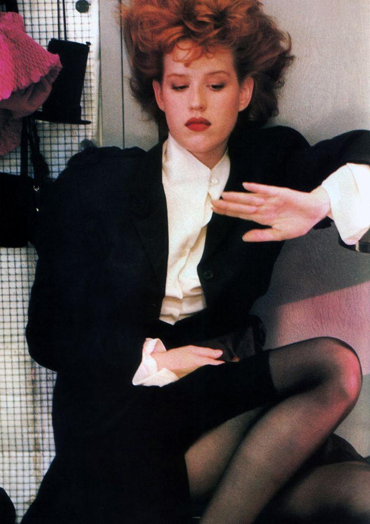 Molly Ringwald 80's | stylish | Pinterest