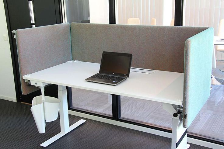 Screen A30 | Sliding office screen | Cable tray