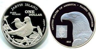 Jarvis Island 1 Dollar 2015