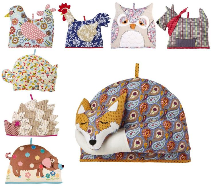 OK, I admit it - I have the cat version.  Ulster Weavers Animal Tea Cosy Teacosy Chicken Pig Fox Cat Dog Bird Owl Hedgehog