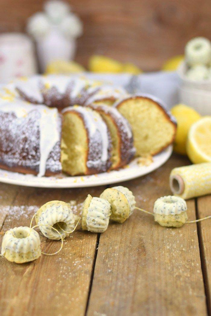 Zitronen Joghurt Gugelhupf - Lemon Yogurt Bundt Cake (28)