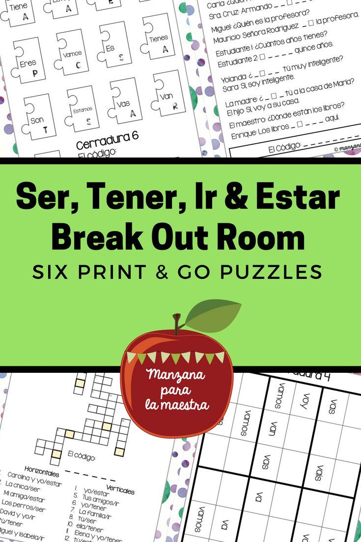 A Fun Interactive Lesson Plan Activity To Practice The First Verbs Tener Ser And Estar Learning Spanish Interactive Lesson Plans Spanish Language Learning