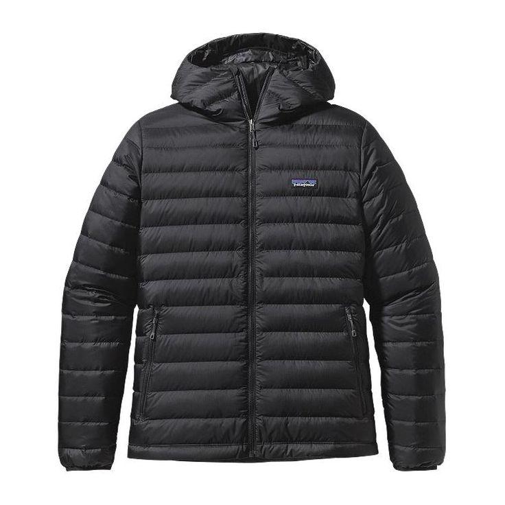 Eddie xmas Patagonia Men\'s Down Sweater Hoody - Black BLK