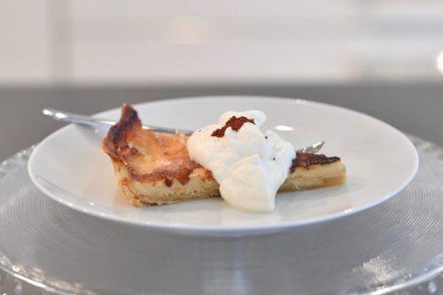 Maple Cream Brûlée Tart