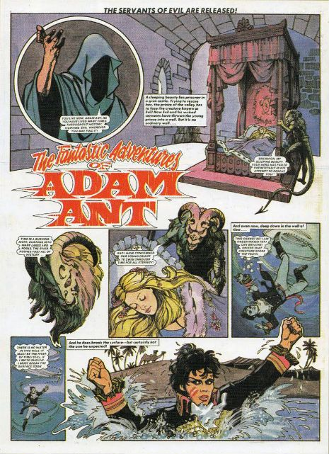 Dangerous Minds | The Fantastic Comic Book Adventures of Adam Ant, 1982