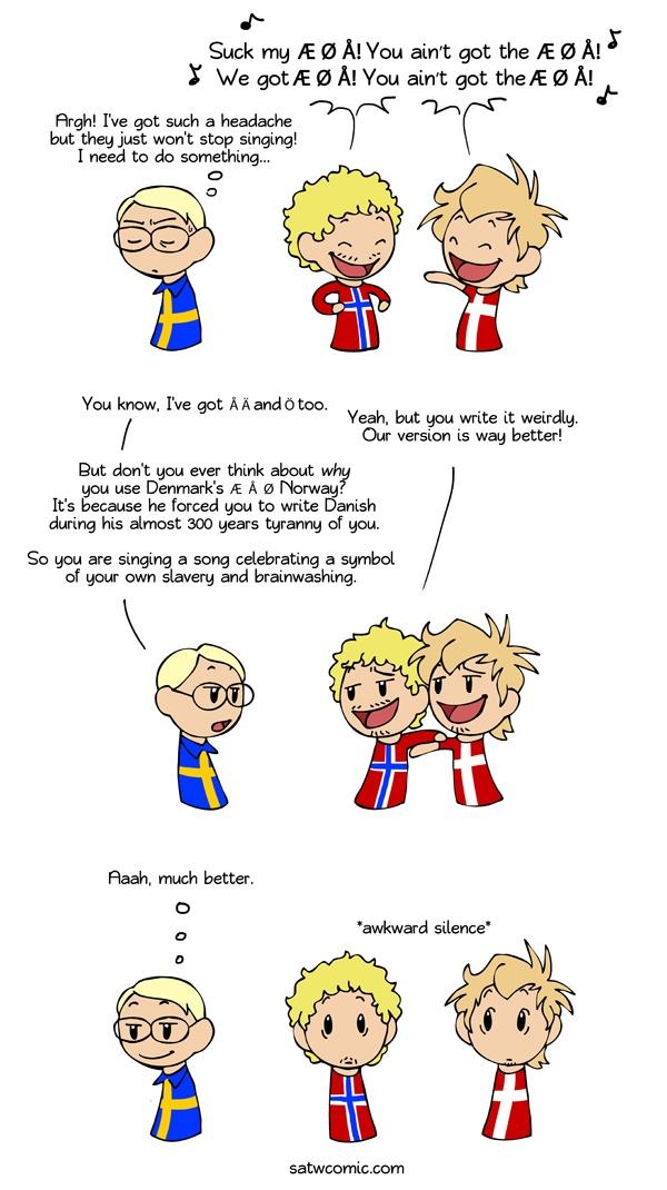 Scandinavia and the World !