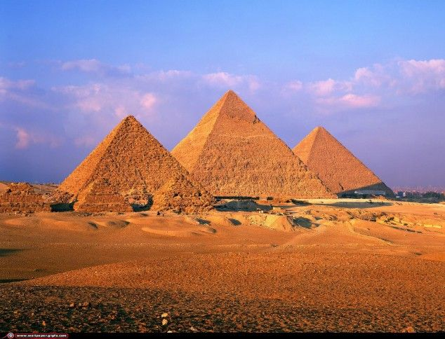 30 Wonderful Places To Visit In Your Lifetime - Great Pyramid of Giza, Egypt