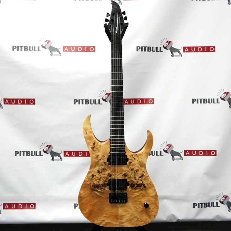 Mayones Duvell 6 Elite with Eye Poplar Top and Seymour Duncan Pickups Electric Guitar in Transparent Natural Satin Finish