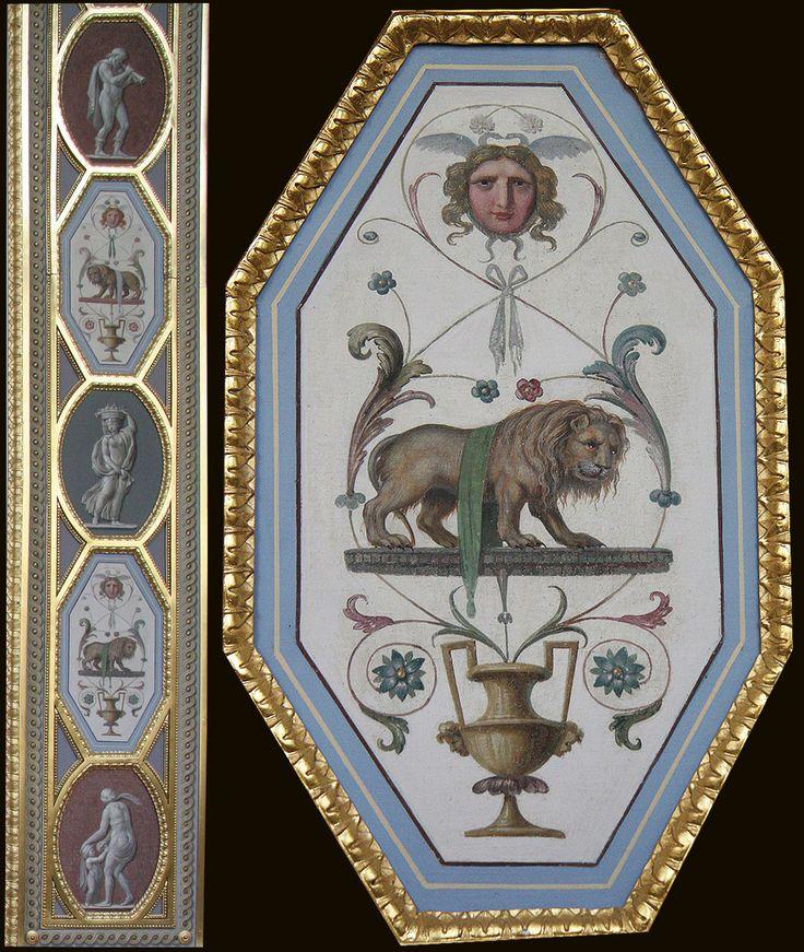 Х. Унтербергер, орнамент-гротеск, середина XIX века, «Лоджии Рафаэля», Эрмитаж, Санкт-Петербург