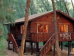 Log Cabins, Cape Vidal, South Africa