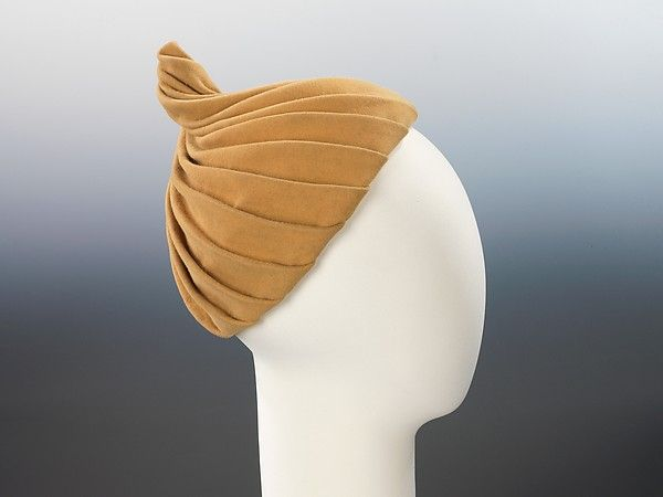 Sally Victor | Hat 1950s| American | The Met