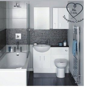 En suite and cloakroom suite image bathroom pinterest for Modern small ensuite