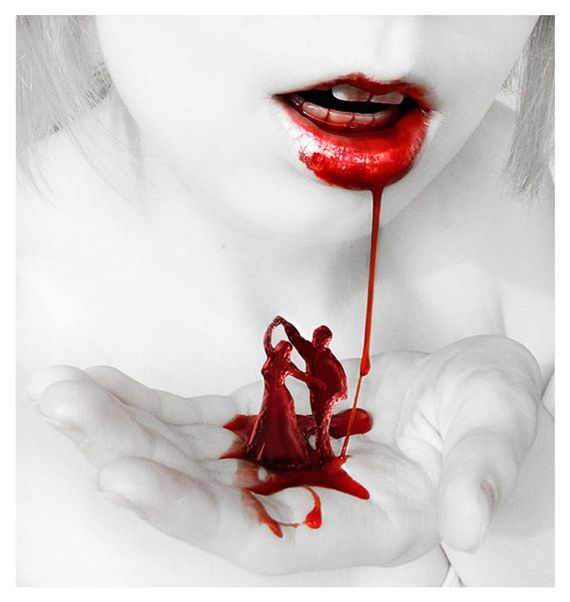 Dancing in the Dark. #bloodletting