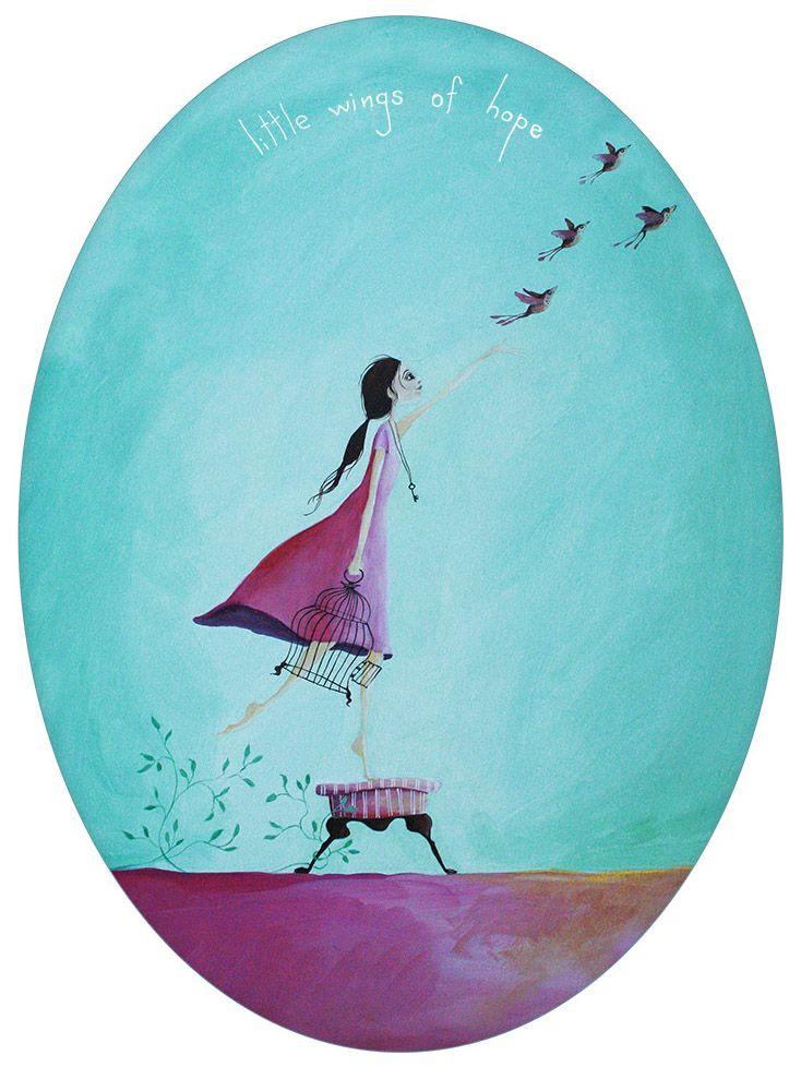Little Wings of Hope - by Crispin Korschen.  www.imagevault.co.nz