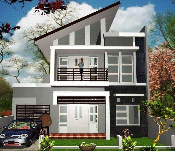 Model Desain Rumah Minimalis 2 Lantai Modern Sederhana Rumah Minimalis Rumah Desain Rumah