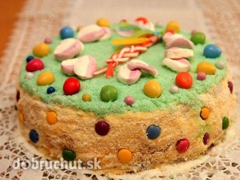 Sunquicková veľkonočná torta