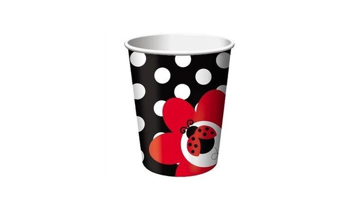 Ladybug Cups - 8 Pack