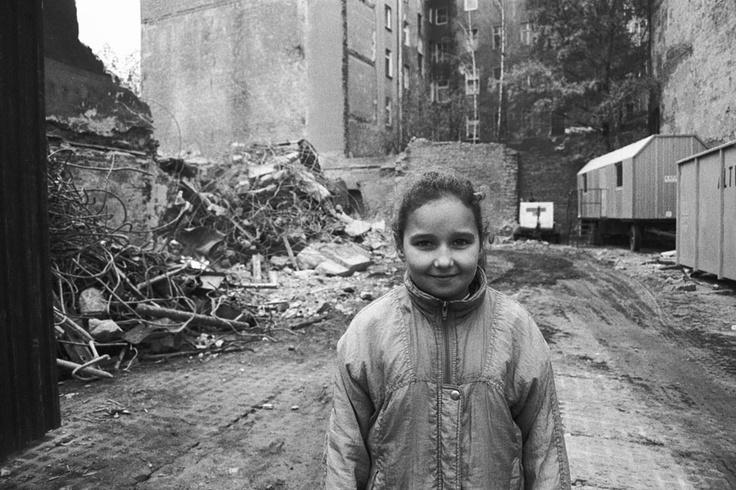 East Berlin slum, 1990.