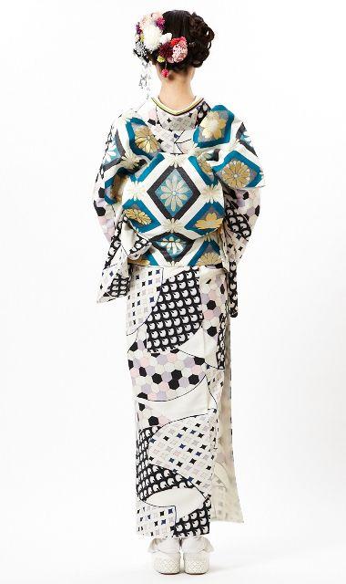Furifu 2013 designed kimono outfit. Japan