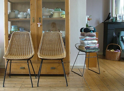 AMSTERDAM MODERN: Deb Cabinets, Amsterdam Modern, Photos, Display Cabinets, Vintage Wardrobe, Beautiful Rooms, Baskets Chairs, Hairstyles Ideas, Wicker Chairs