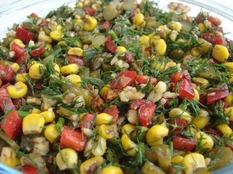 Dereotlu Cevizli Salata Resimli Tarifi - Yemek Tarifleri