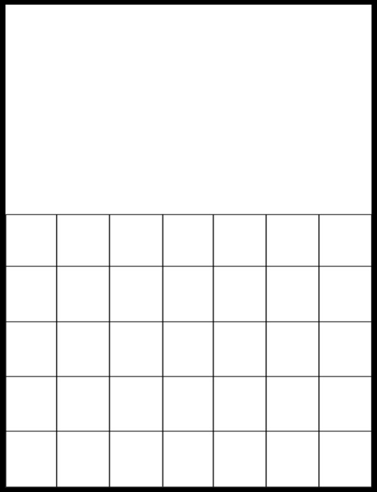 Blank Calendar Grid : Best templates images on pinterest other