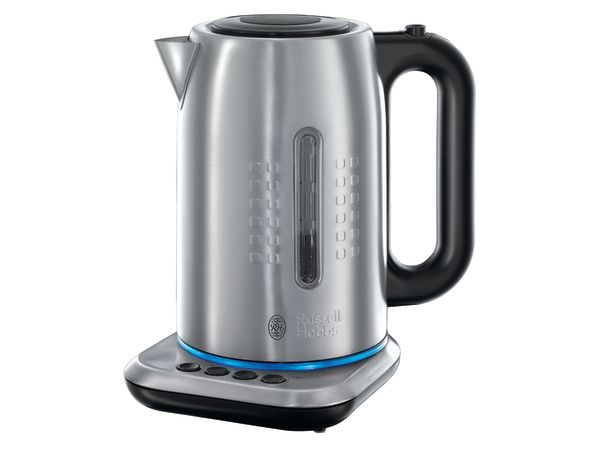 Russell Hobbs Illumina Digital Variable Temperature Kettle, 1.7 Litres - Forget everything you know, and rethink how you use appliances. The Illumina range from Russell Hobbs uses an innovative colour control light strip to indicate different speeds, times or temperatures, taking the guesswork out of which setting to use for which function.