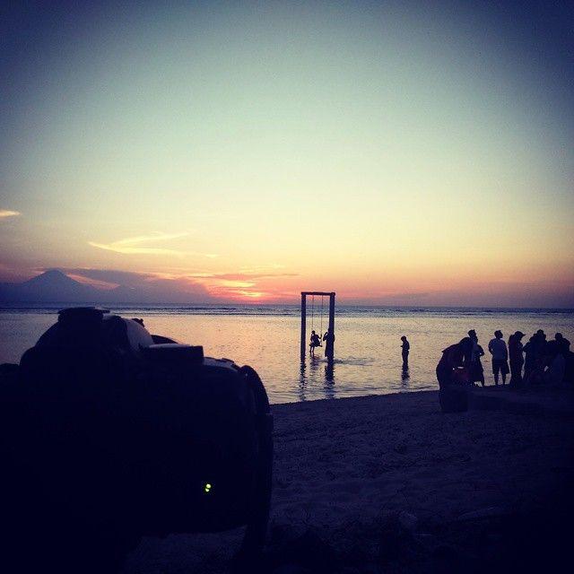 #sunset #gilitrawangan
