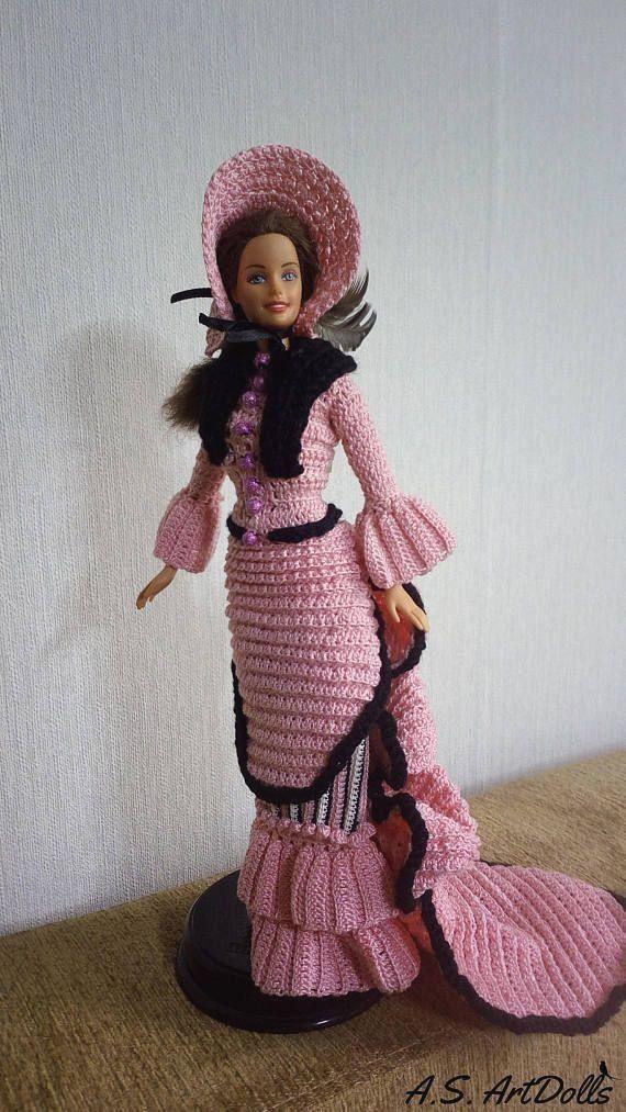 Vestiti Per Bambola Barbie Abito Per Bambola Uncinetto Abito Per