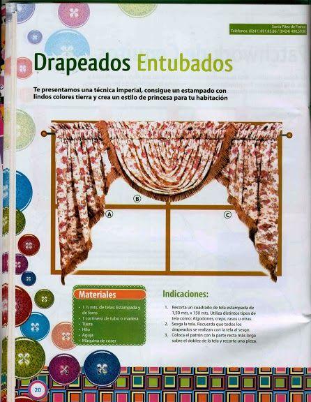 revista decoracao de interiores cortinas: Cocina no Pinterest