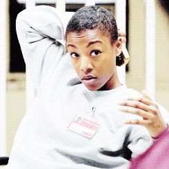 """In conclusion, Poussey is bae.   12 Times Poussey Stole Our Hearts In """"Orange Is The New Black"""" Season 2"""