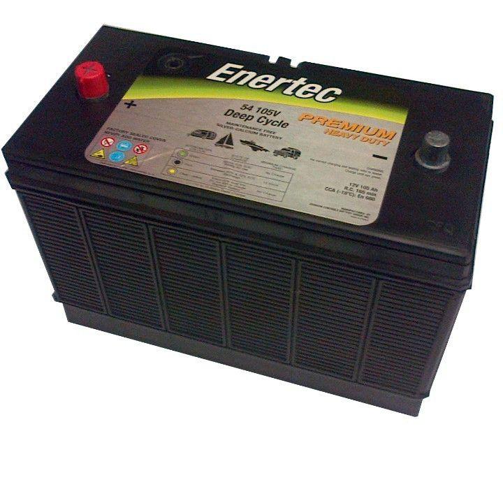 Enertec 105AH 12V Deep Cycle Battery