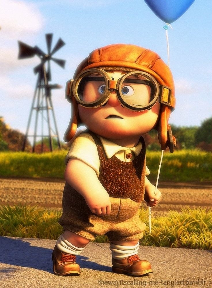 Carl Fredricksen (UP) de niño.