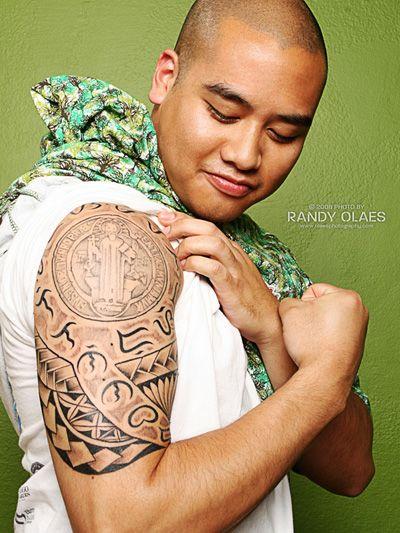 filipino tribal baybayin tattoo The 2 sides of Filipinos