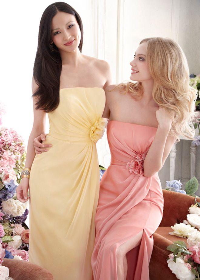 36 best Bridesmaids dresses images on Pinterest   Dress skirt ...