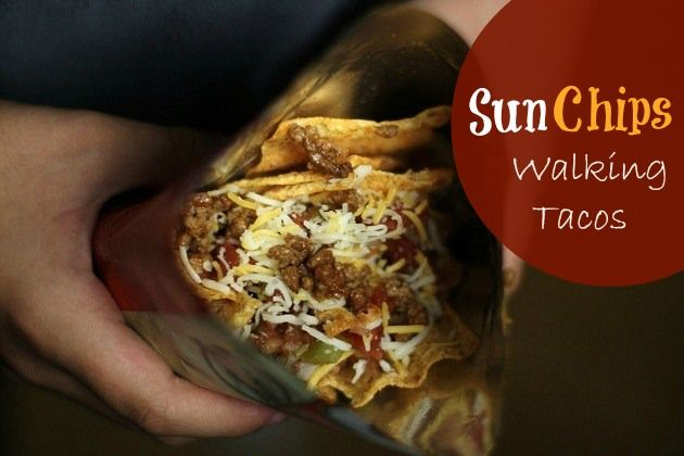 "SunChips ""Walking Tacos"" — Celebrations at Home. Looks like they got this idea from lock-up."