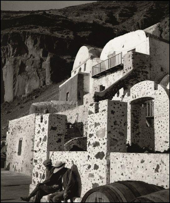 Herbert List, Santorini Town of Thira (Fira), 1937