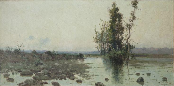 Paesaggio paludoso (1903, olio su tela, 36x75 cm, collezione privata)