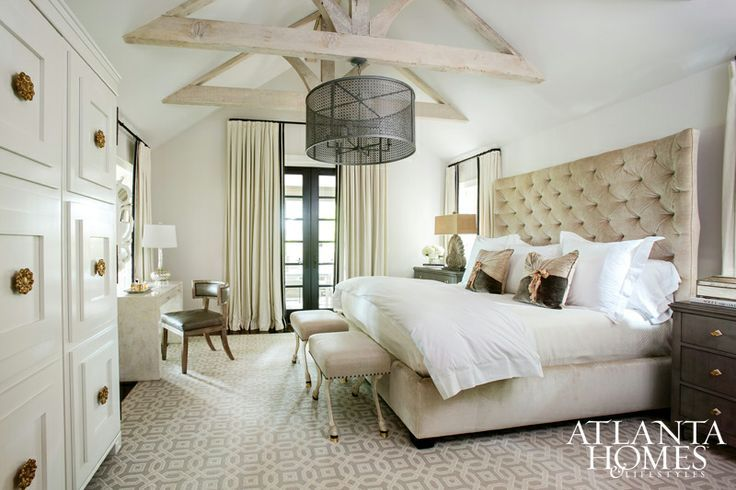 neutral master bedroom for the home