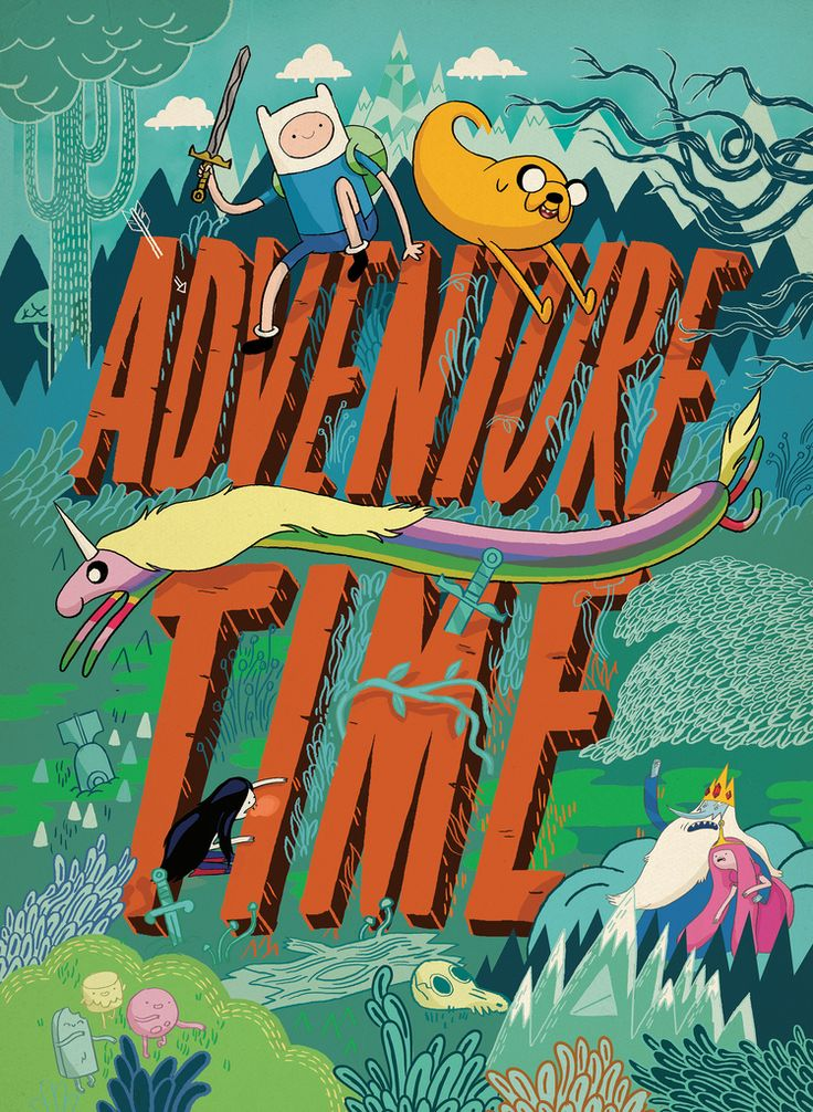 Cool ADVENTURE TIME poster !!!!!!